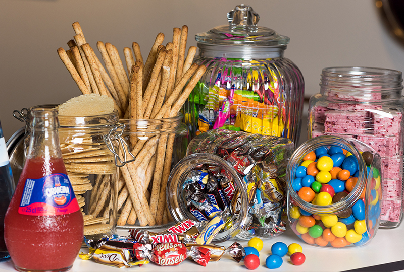 Schwesterherzen Kleiderzimmer Süß-Salziges-Paket